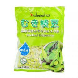 【大人気!】Daisho Peeled Shelled Edamame 300g / 新鮮な枝豆をそのまま冷凍 お子様の食育にも♪(^^)