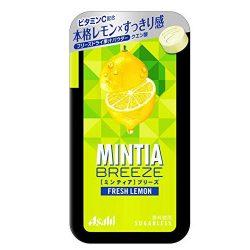 Asahi MINTIA Breeze Fresh Lemon 36g / アサヒミンティアブリーズフレッシュレモン