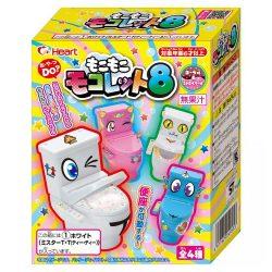 Heart Toilet Toy 8 93g / ハートもこもこモコレット8