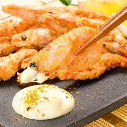 Deep Fried Sweet Shrimp 400g / まるごと甘海老の旨塩揚げ 甘えび 甘エビ