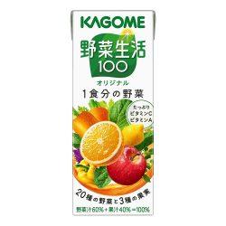 Kagome Yasaiseikatsu 100 Original 200ml / カゴメカゴメ 野菜生活100オリジナル  200ml