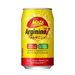 Kirin METS Arginine + vitamin C Powerful Energy Can 350ml / キリン メッツ アルギニンVパワフルエナジー 缶 350ml