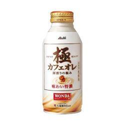 WONDA Cafe Au Lait 370ml / アサヒワンダ 極 カフェオレ370ml
