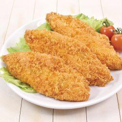 【MUST TRY】Breaded Alaska Pollack (White Fish) for Deep Fry 5pcs / 助宗白身フライ 50g お弁当のおかず♪