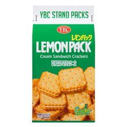 YBC Levain Lemon Sandwich Cracker 175g / ヤマザキビスケット レモンパック 175g