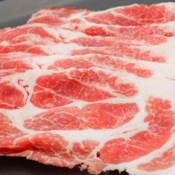 【 ♪ POPULAR】Kagoshima Pork Shoulder Slices (0.2cm) 300g / 鹿児島産豚肩ロース しゃぶしゃぶ用 (0.2cm)