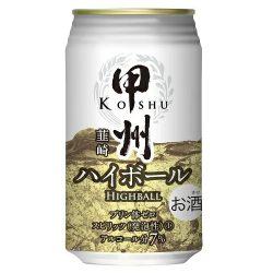 Tominaga Koushu Nirasaki Highball 350ml / 富永貿易甲州韮崎ハイボール