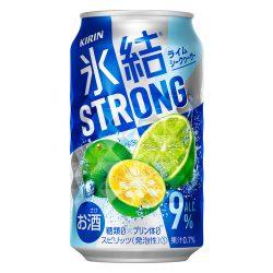 Kirin HYOKETSU Strong Lime Chuhai 350g / キリン氷結®ストロング ライムシークヮーサー 350g