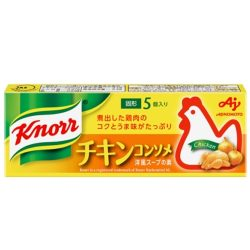 KNORR Chicken Consomme Cube Stock / 味の素クノール チキンコンソメ  箱5個35.5g