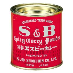 S&B Curry Powder 84g / S&B特製ヱスビーカレー(赤缶) 84g