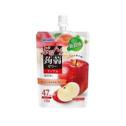 Orihiro Konnyaku Jelly Standing Apple 130g / オリヒロ ぷるんと蒟蒻ゼリースタンディング アップル 130g