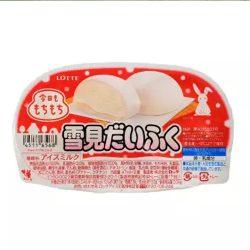 Lotte Yukimi Daifuku Mochi Vanilla Ice Cream 25pcs /ロッテ雪見だいふく業務用ケース 25個入