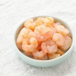 Canada Peeled Sweet Shrimp (Amaebi Mukimi) 500g / 甘海老剥き身  たっぷり500g入り 甘海老丼やかき揚げの具材にも♪
