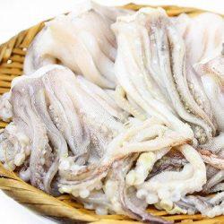 Hokkaido Frozen Squid Tentacles (Surume Ika Geso) 250g / 北海道産スルメイカのゲソ 唐揚げで最高のおつまみ