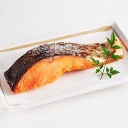 Grilled Salmon Saikyo Yaki (1pc) / 無添加サーモン西京焼き