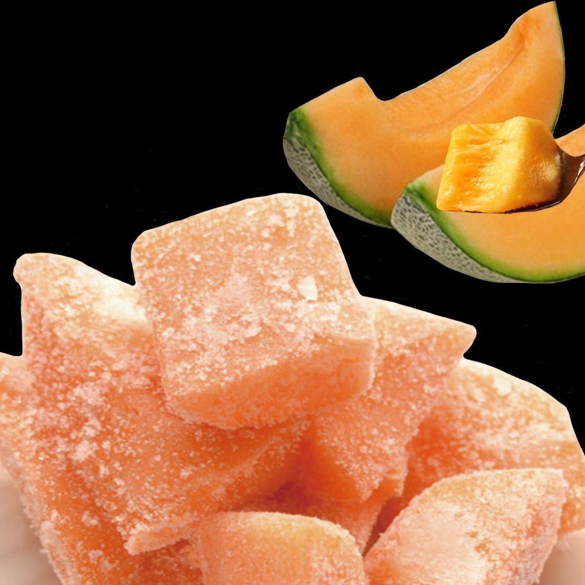 Frozen Hokkaido Yubari Melon 500g / 冷凍夕張メロンカット500G・ご家庭で楽しむスムージー
