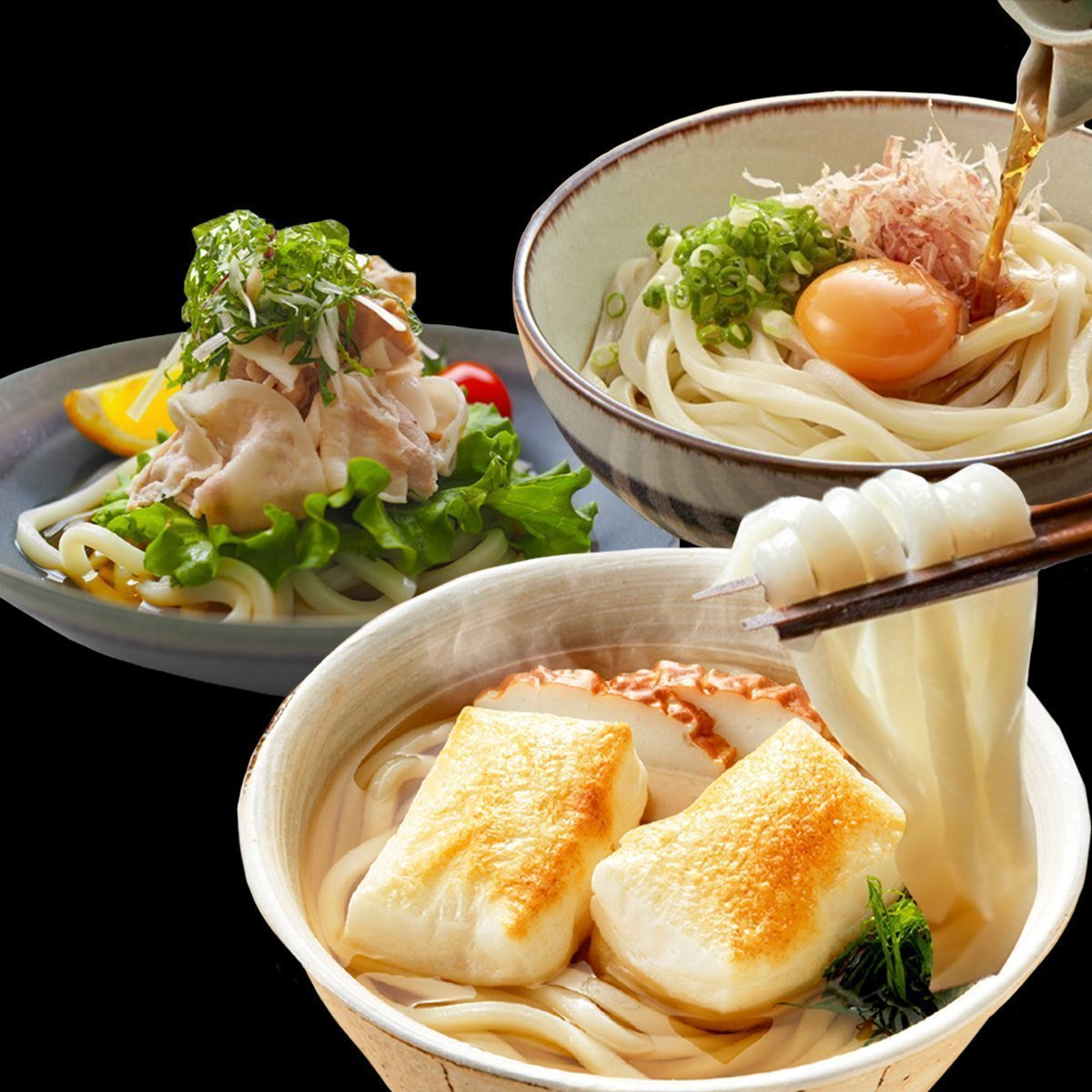Frozen Udon from Kyoto (5pcs) 175g / 冷凍京風うどん 冷凍麺