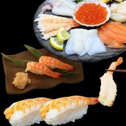 【In Bulk】Sushi Ebi (Shrimp) 30pcs / 寿司海老