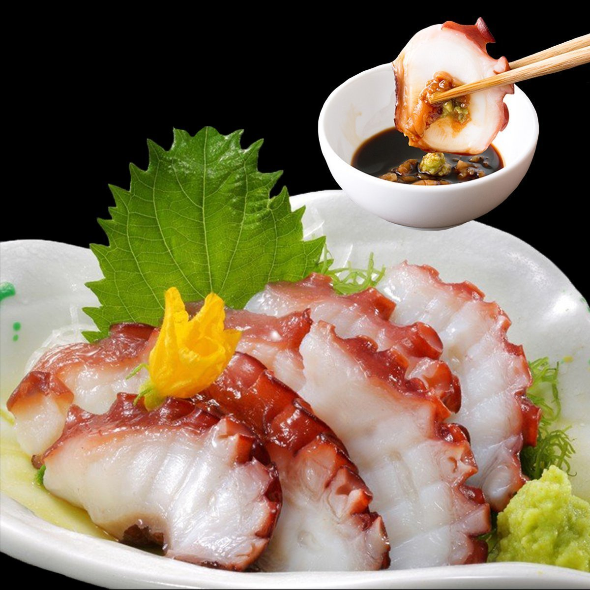 Octopus Slice (Tako) 20pcs / 蛸スライス(寿司だね)