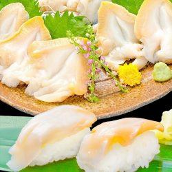 Whelk Slice Top Shell (Tsubugai) 20pcs / つぶ貝スライス