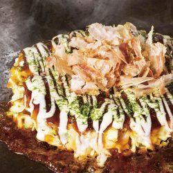 Kaisen Okonomiyaki (Seafood Pancake) 6pcs / 海鮮お好み焼き6枚入