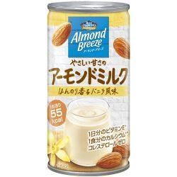 Almond Breeze Almond Milk 185g / ポッカアーモンド・ブリーズ やさしい甘さのアーモンドミルク185g