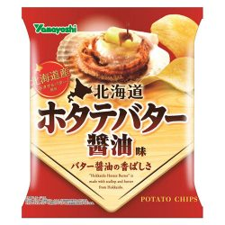 Yamayoshi Hokkaido Scallop Soy Butter 50g / 山芳製菓北海道ホタテバター醤油味 50g