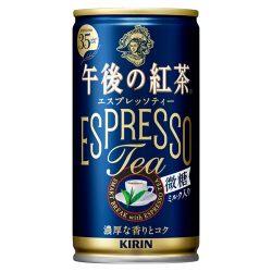 Kirin Gogo No Kocha Espresso Tea Low Sugar 185g / キリン午後の紅茶 エスプレッソティー 微糖 缶185g