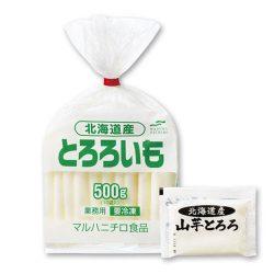 Frozen Hokkaido Tororo (Maruha Nichiro Brand) 50g x 10 / マルハニチロ 北海道産山芋とろろ 冷凍 ★北海道産の厳選された山芋を使用