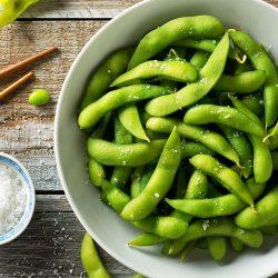 【大人気!】Edatsuki Edamame (Boiled Soy Beans) 500g / オーナーこだわりの枝付き枝豆たっぷり500g! / 枝付きなので養分たっぷり!お子様の食育にも♪(^^)