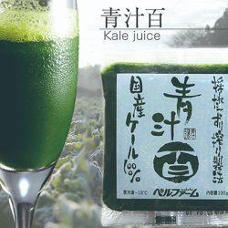 【BULK BUY AT 10% OFF】Bellfarm Aojiru Juice (Kale Juice) 100ml (1 pack) x 5 packs / 【青汁百】国産ケール100%・厳選原料・無添加