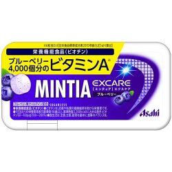 Asahi MINTIA Excare Blueberry 34g / アサヒミンティアエクスケア ブルーベリー34g
