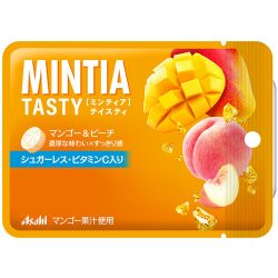 Asahi MINTIA Tasty Mango & Peach 15g / アサヒミンティアテイスティ マンゴー&ピーチ15g