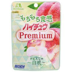 Morinaga Hi-Chew Premium White Peach 35g / 森永製菓ハイチュウプレミアム白桃 35g