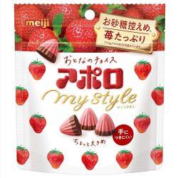 Meiji Apollo My Style Chocolate Strawberry 41g / アポロマイスタイル 41g