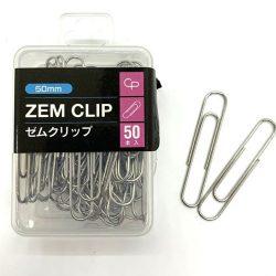 Paper Clip 50mm x 50 pieces / ゼムクリップ(50mm・50P)