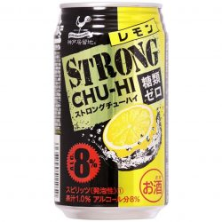 Tominaga Kobe Kyoryuchi Strong Chuhai Lemon 350ml / 神戸居留地 チューハイ ストロング レモン 缶