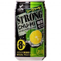 Tominaga Kobe Kyoryuchi Strong Chuhai Shikuwasa 350ml / 神戸居留地 ストロングチューハイ シークァーサー缶