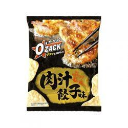 House Foods Ozac Nikujiru Gyoza Chips 68g / オー・ザック 肉汁餃子味