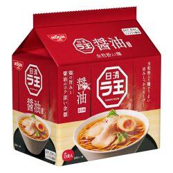 Nissin Raou Shoyu 5 Shoyu Pack (101g x 5) / 日清ラ王 醤油5パック