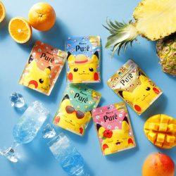 Kanro Pure Gummy Pokemon Denki Tropica aji 56g / ピュレグミポケモンでんげきトロピカ味
