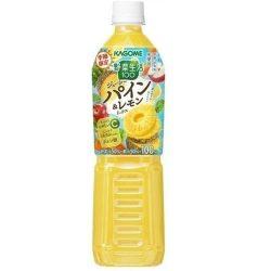 Kagome Yasaiseikatsu Juicy Pineapple and Lemon Mix 720ml / カゴメ 野菜生活 ジューシーパイン&レモンミックス