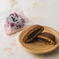 【Confectionery Excellence Award】Kogetsuan Datedora Brown Sugar Dorayaki from Ibaraki ~75g x 2 / 湖月庵 館どら 黒糖  【第23回全国菓子博覧会 技術優秀賞受賞】