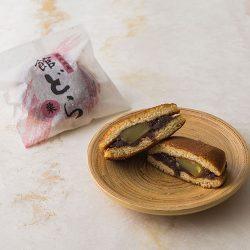【Confectionery Excellence Award】Kogetsuan Datedora Chestnut Kuri Dorayaki from Ibaraki ~75g x 2 pieces / 湖月庵 館どら 栗 【第23回全国菓子博覧会 技術優秀賞受賞】