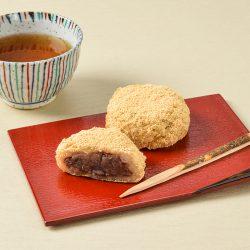 Imuraya Kinako Ohagi Tsubuan (Red Bean Paste) 4 pieces /  4コ入 きなこおはぎ (つぶあん)