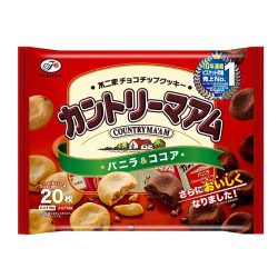 Fujiya Country Maam Vanilla & Cocoa / カントリーマアム