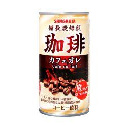 Binchotan Roasted Coffee Café au Lait / サンガリア備長炭焙煎珈琲カフェオレ  185g