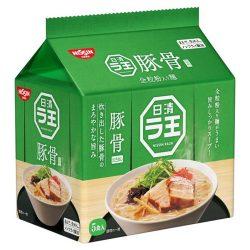 Nissin Raou Tonkatsu shoyu 5Shoku Pack / 日清ラ王 豚骨醤油5パック