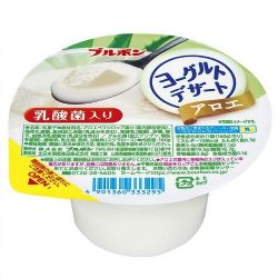 Bourbon Yogurt Dessert Aloe 160g / ブルボンヨーグルトデザートアロエ 160g
