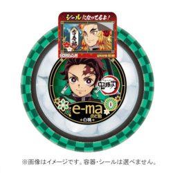 e-ma Nodoame Kimetsu no Yaiba Hakuto Yoki White Peach / e-maのど飴鬼滅の刃 白桃容器